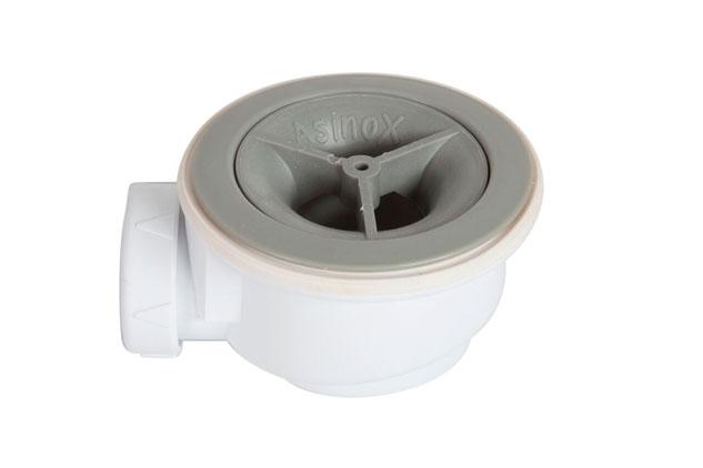 V lvula plato ducha 90 sin embellecedor asinox for Desague plato de ducha