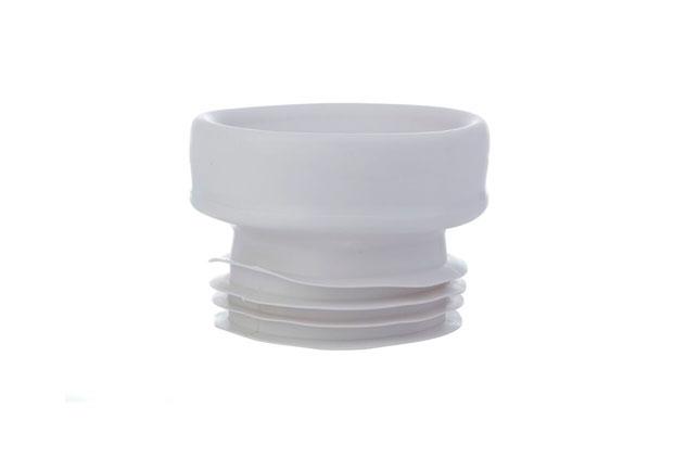 Manguito inodoro flexible concéntrico 72401