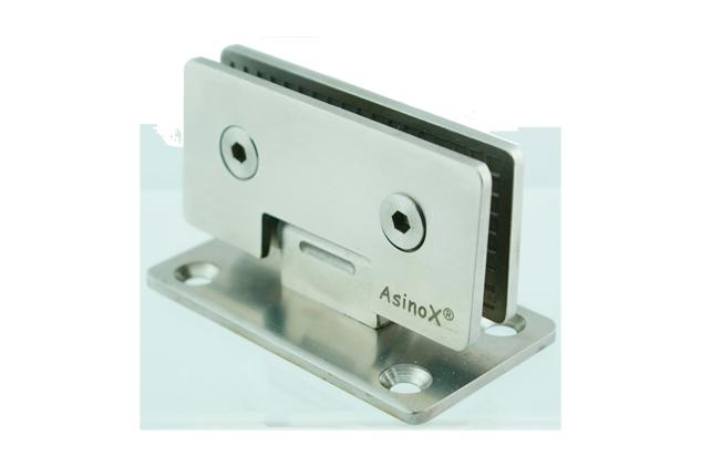 Bisagra Inox 90º para vidrio 6-80 mm 52589011-2