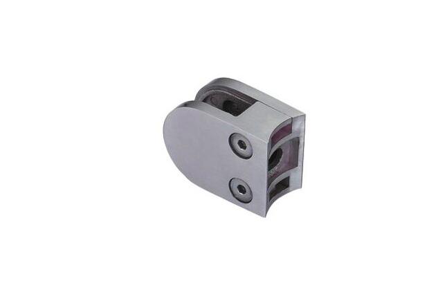 Pinza Inox curva, asiento curva, 50 y 63 mm, brillo y mate,670200301-2 y 67020040-21