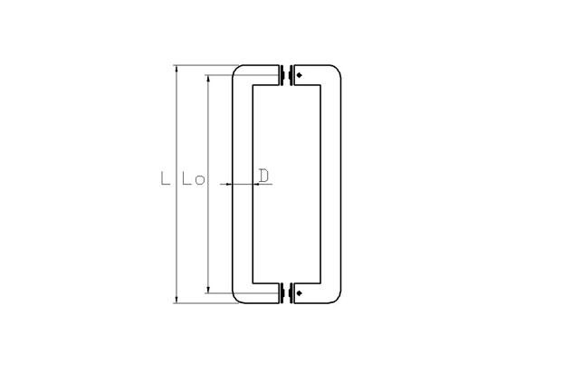 Puerta Aluminio 607 plano