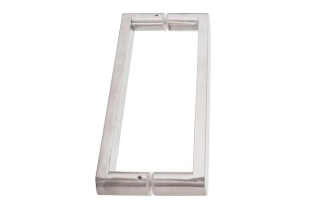 Tirador Inox puerta vidrio 616