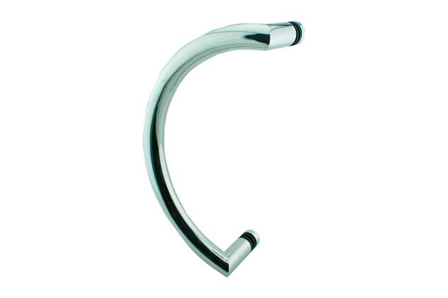 Tirador Inox sencillo Puerta Aluminio 607